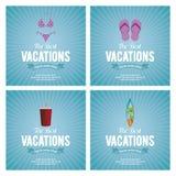 Vacances d'été Images libres de droits