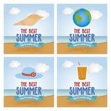 Vacances d'été Photo libre de droits