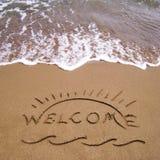 Vacances d'été bienvenues Photos libres de droits