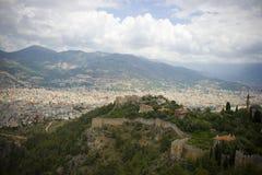 Vacances d'été dans Alanya Photos libres de droits