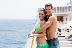 Vacances d'été de couples Images libres de droits