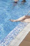 Vacances d'été de piscine Photo libre de droits