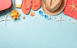 Vacances d'été et fond de voyage photos stock