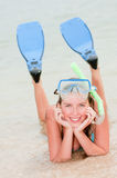 Vacances d'été heureuses Images libres de droits