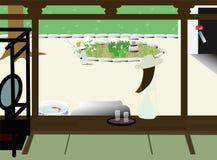 Vacances d'été japonaises Photo stock