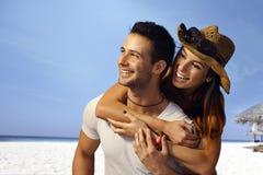 Vacances d'été sur la plage Photo stock