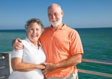 vacances d'aîné de couples Photographie stock libre de droits