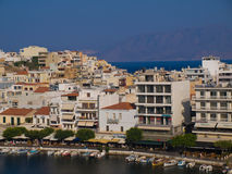 Vacances d'Agios Nikolaos Crete Greece Images libres de droits