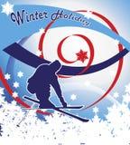 Vacances d'hiver Photographie stock libre de droits
