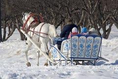 Vacances d'hiver images libres de droits