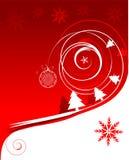 Vacances d'hiver, carte de Noël Photographie stock libre de droits
