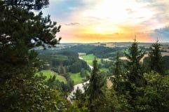 Vacances dans Franconia supérieur photo stock