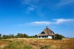 Vacances dans la prairie sur Hiddensee Image libre de droits
