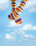 Vacances dans le ciel Photo stock