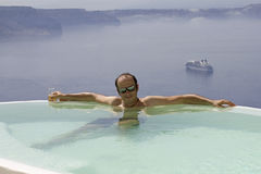Vacances dans le paradis Photos libres de droits