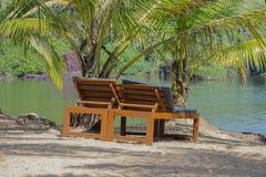 Vacances dans le paradis Photographie stock libre de droits