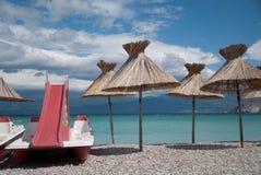 Vacances dans le sud par la mer Photographie stock