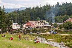 Vacances dans les montagnes Photo stock