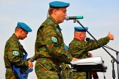 Vacances de 100 ans des Armées de l'Air militaires de la Russie Images libres de droits