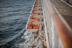 Vacances de bateau de croisière Images stock