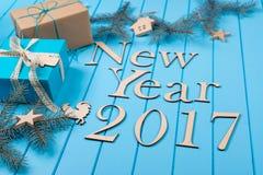 Vacances 2017 de bonne année Photos libres de droits