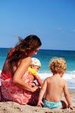 Vacances de bord de la mer photo libre de droits