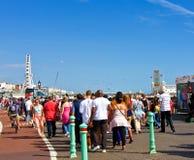 Vacances de côté à Brighton Photos libres de droits