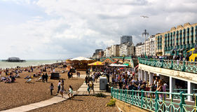 Vacances de côté à Brighton Photo stock