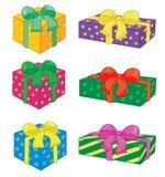 vacances de cadeaux Images libres de droits