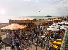 Vacances de côté à Brighton Photographie stock libre de droits