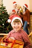 Vacances de famille Images libres de droits