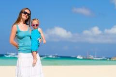 Vacances de famille Image libre de droits