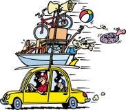 Vacances de famille Illustration Stock