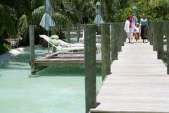 Vacances de famille en Floride Images libres de droits