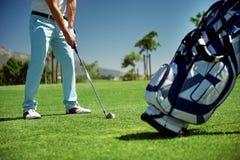 Vacances de golf Photographie stock libre de droits