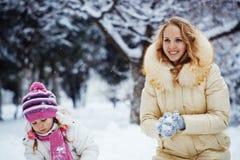 Vacances de l'hiver Photo libre de droits
