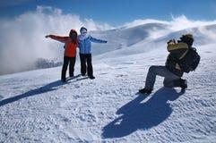 Vacances de l'hiver Photos libres de droits