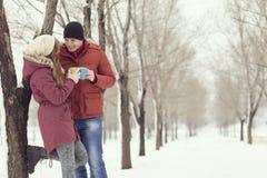 Vacances de l'hiver Photographie stock