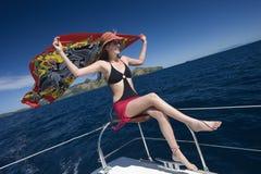 Vacances de luxe - îles de Yasawa au Fiji Image libre de droits