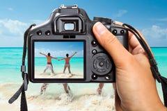 Vacances de mer des Caraïbes Images libres de droits
