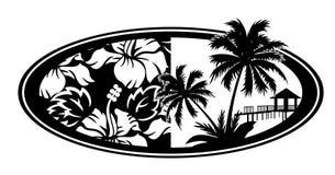 Vacances de mer et d'océan Images libres de droits