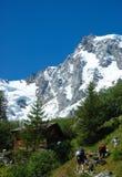 Vacances de montagne photographie stock libre de droits