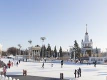 Vacances de Noël à Moscou Image stock