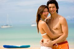 Vacances de plage Images stock