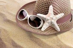 Vacances de plage d'été photo stock