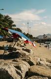 Vacances de plage de Wonnapa image libre de droits