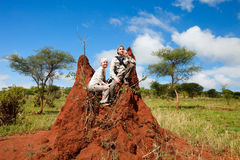 Vacances de safari Image libre de droits