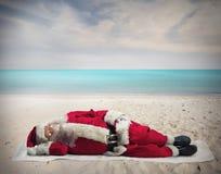 Vacances de Santa Claus Photographie stock libre de droits