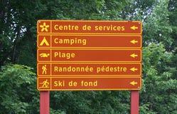 vacances de signe Image stock