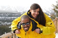 vacances de ski Photographie stock libre de droits